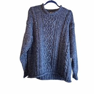 Aran Chunky Hand-knitted Sweater